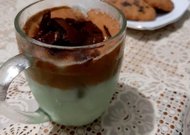 Dalgona Choco Mint Coffee