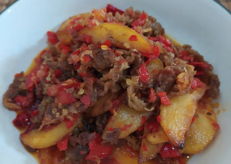 Beef Slice ala Dendeng Batokok