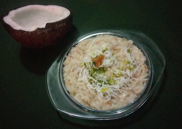 Steps to Prepare Favorite Seviyan Kheer (Bangladeshi Dessert) 💛