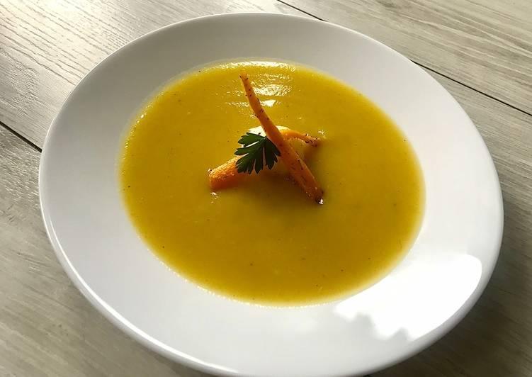 Zupa krem z pieczonych warzyw🌱 główne zdjęcie przepisu