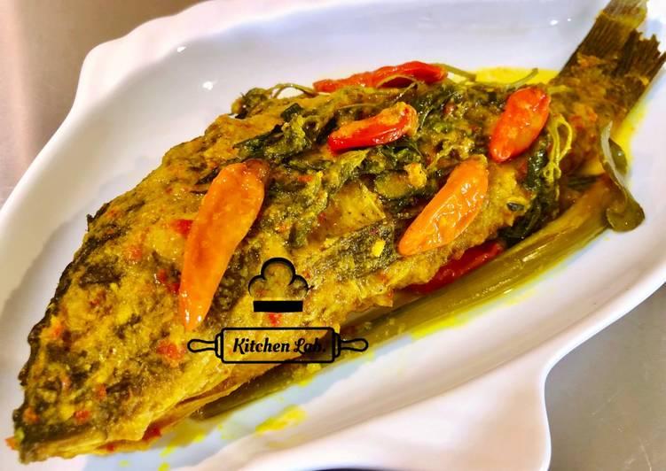 Pesmol Ikan (ala resto Padang)