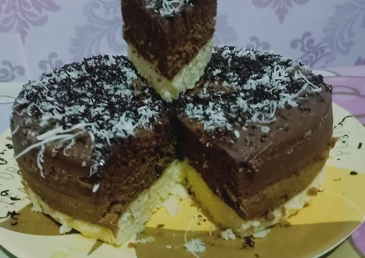 Tiramisu steam cake