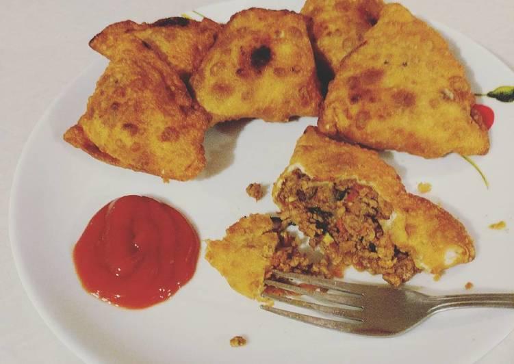 10+ Dinner Ideas Quick Keema Samosas