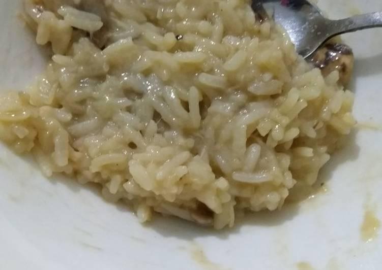 Recipe of Speedy Simple chicken and mushroom risotto