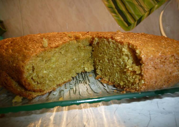 Recette Savoureux Gateau moelleux citron vert lait de coco