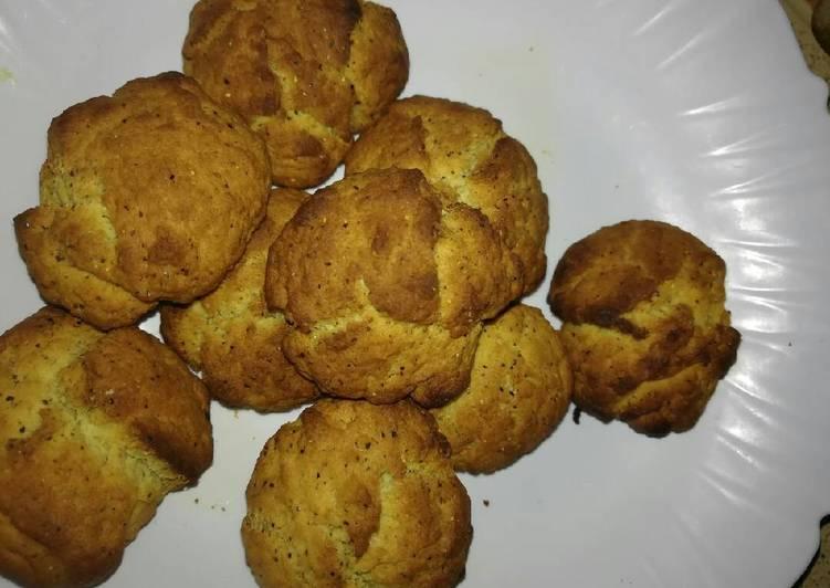 Homemade Vanilla Cookies.