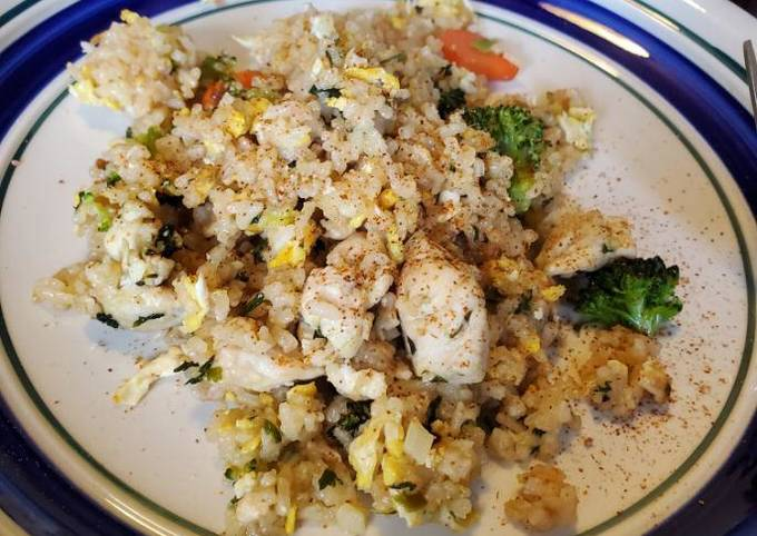 Chicken Fried Rice (Asian)
