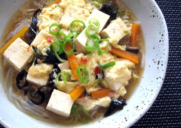 Easiest Way to Prepare Favorite Low-Calorie Hot & Sour Noodle Soup