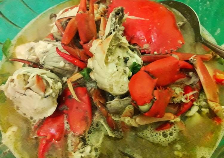 Kare kepiting tanpa santan