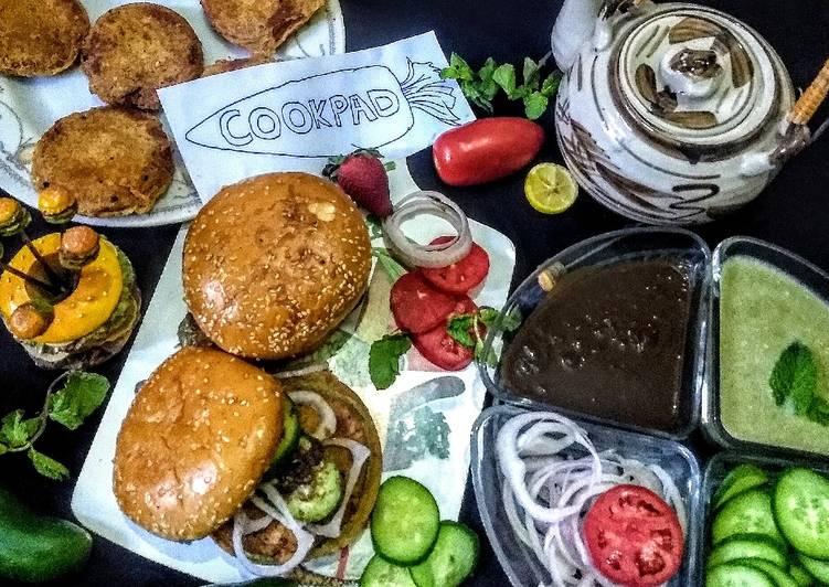 How to Make Super Quick Homemade Memoni Bun Kabab
