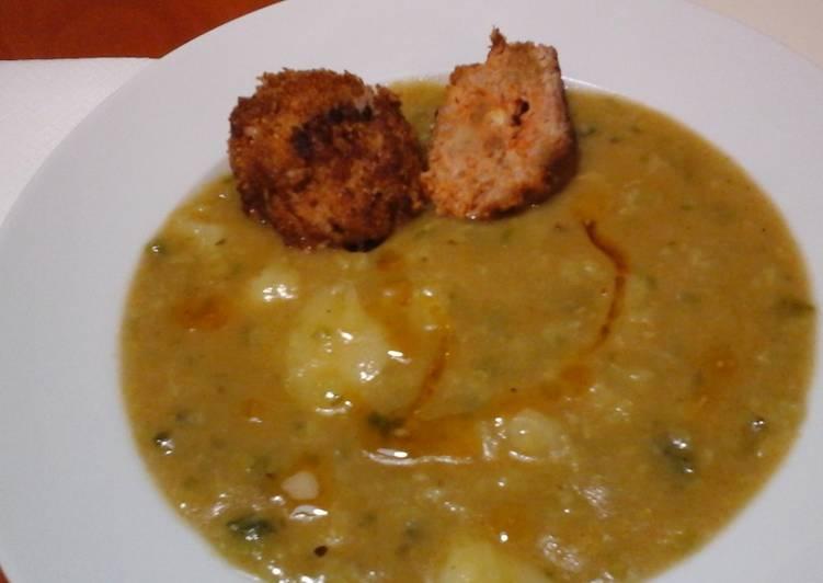 gluténmentes kelkáposzta főzelék
