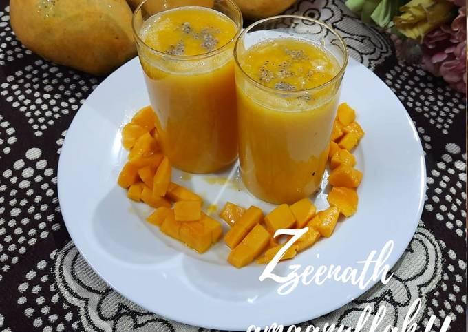 Mango Juice with Chia