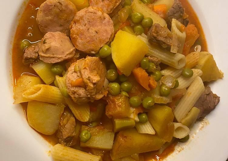 Guisado de carne (ingredientes aptos para Celíacos)