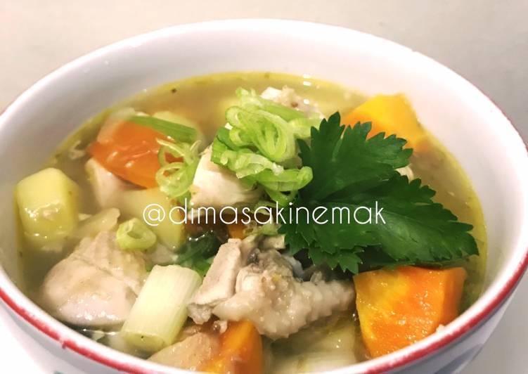 Soup ayam
