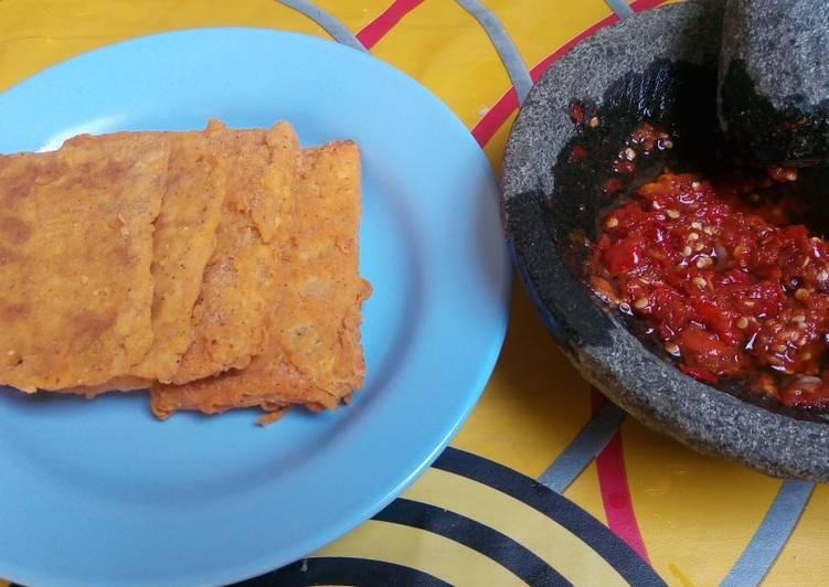 Resep Tempe Crispy Sambal Bajak Yang Mudah Bikin Ngiler