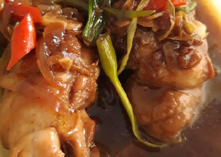 Ayam Bakar Kecap Anak Kos
