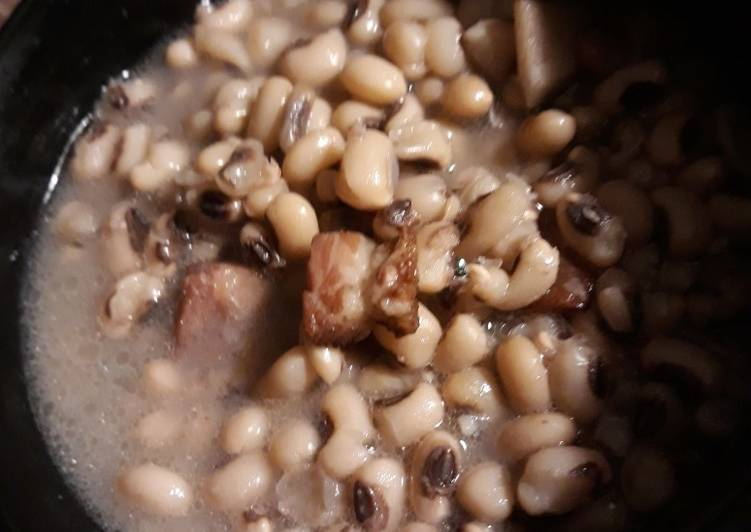 Recipe: Appetizing 2020 New Years Black Eyed Peas