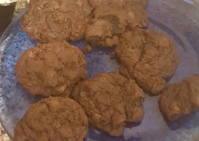 Extreme chocolate chocolate chip cookies