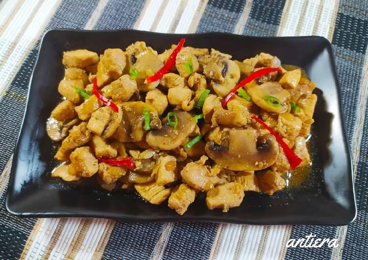 Toping Mie Ayam dan Nasi Tim