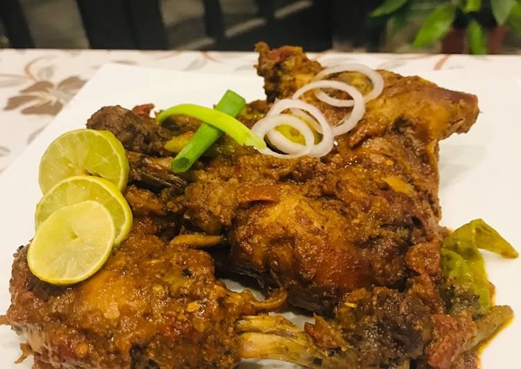 Recipe of Quick Chicken Tikka Karahi