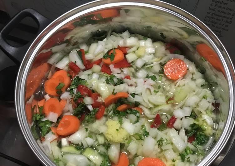 Recipe of Ultimate British Restaurant Style Curry Base Gravy