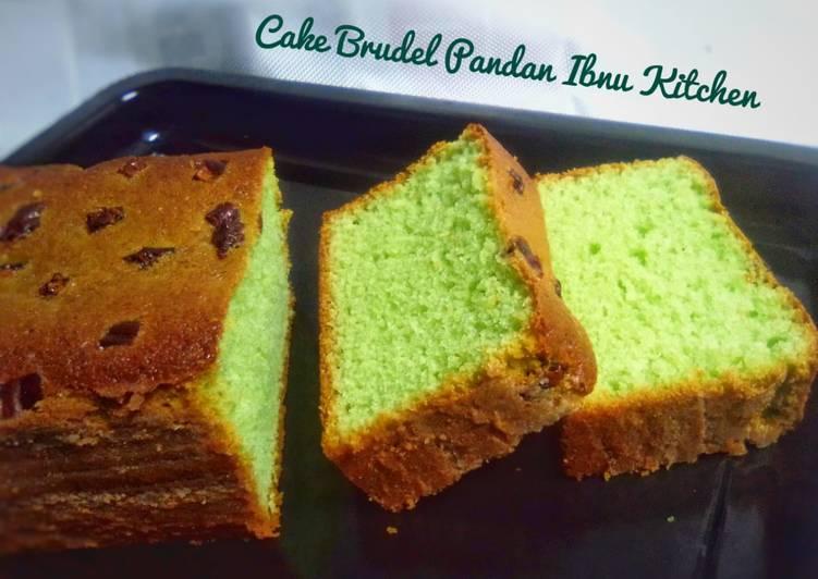 Cake Brudel Pandan