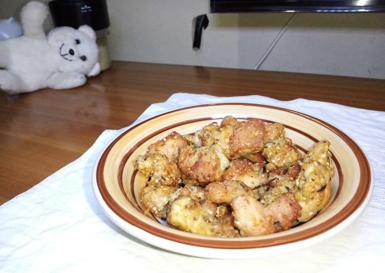 How To Make  Chicken bites#kibs challenge