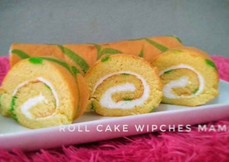 Roll cake panggang super lembut