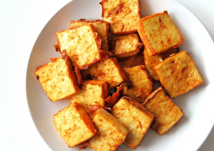 Recipe of Perfect Sriracha Tofu