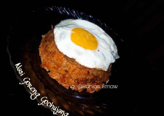 Resep Nasi Goreng Gochujang Oleh Kania Sukma Cookpad