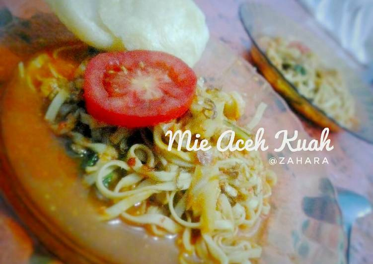Resep Mie Aceh Kuah (Praktis) Yang Mudah Sedap