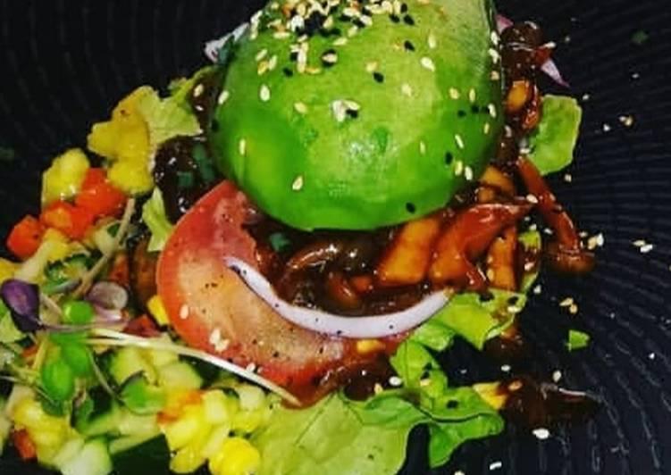 How to Prepare Super Quick Homemade Shroom burger