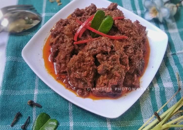 Rendang Daging Khas Padang