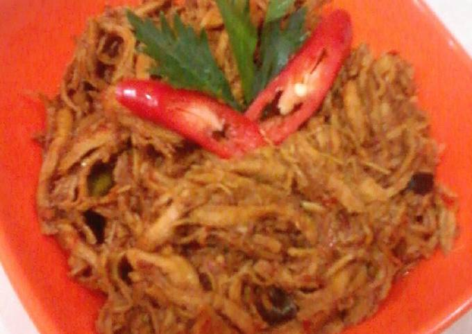 Resep Ayam Suwir Asam Manis Oleh Resty Ria Cookpad