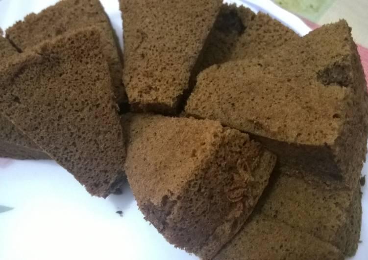 Chiffon Cake Choco Coffe Mocca lembut, harum, kepyuss lumer di mulut