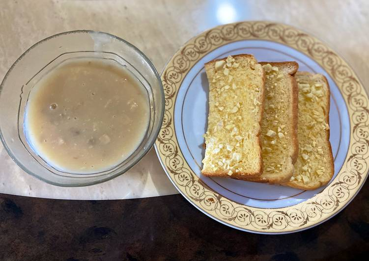 Resepi:  Garlic Bread  Lazat