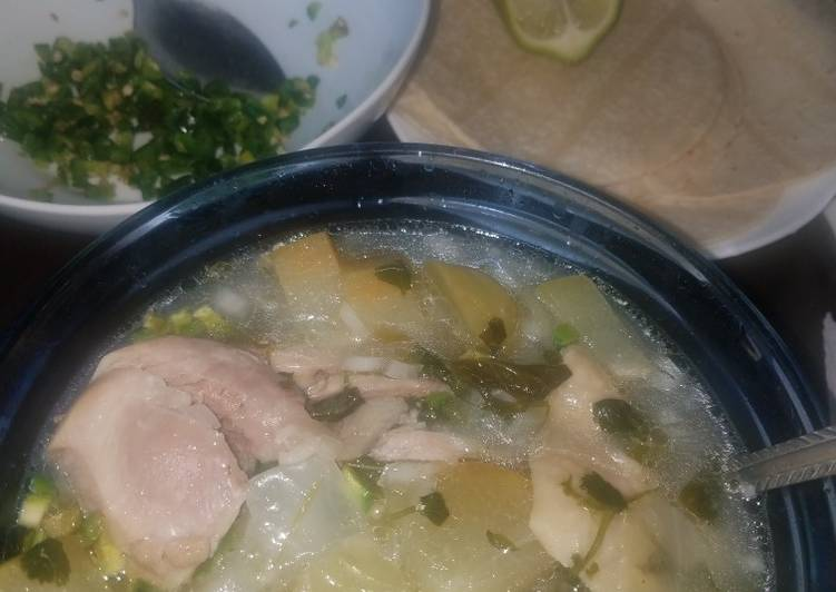 Recipe of Quick Caldo de pollo