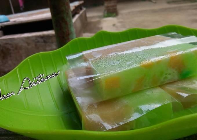 Pudding Melon Mangga