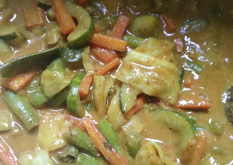 Acar Kuning Kacang - cookandrecipe.com