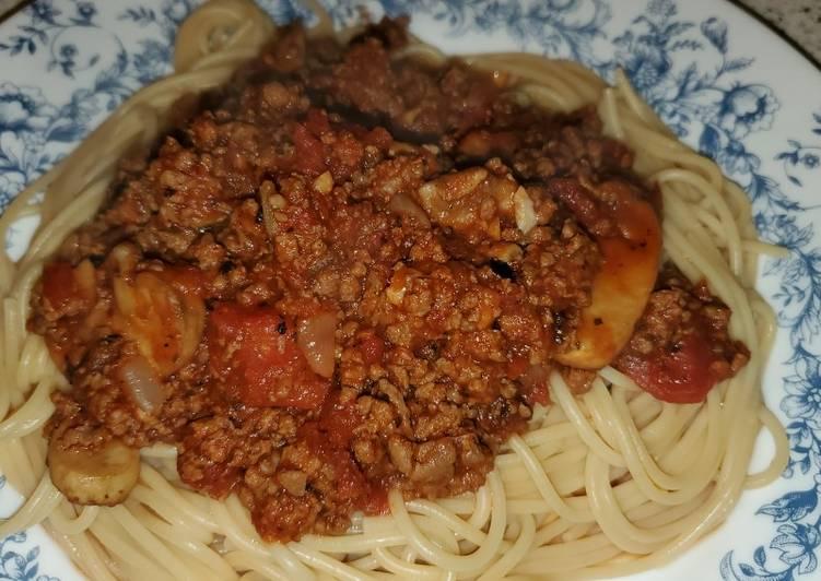 Lauren's Homemade Spaghetti Sauce