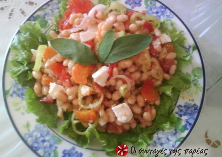 Turn to Food to Improve Your Mood Greek bean salad