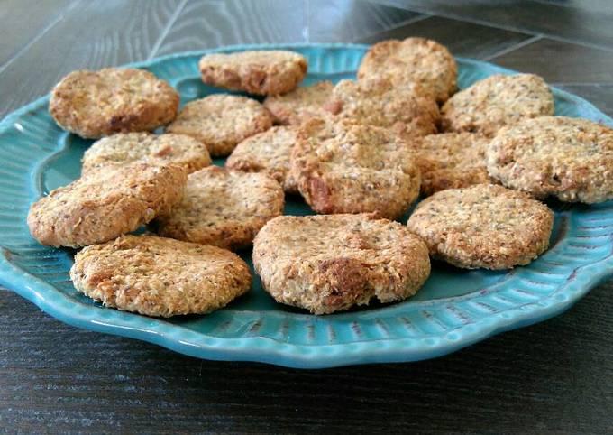 Recipe Appetizing High fiber oats and yogurt cookies