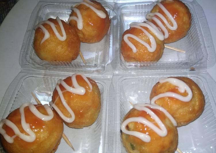 Takoyaki lezat dan ekonomis cocok untuk jualan