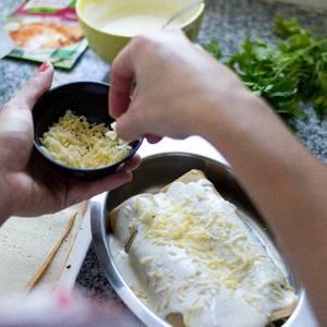 Receta de Canelones de ternera deshilachada, queso pategrás y espinaca