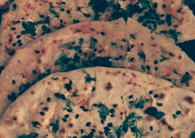 Cabbage Carrot Paratha