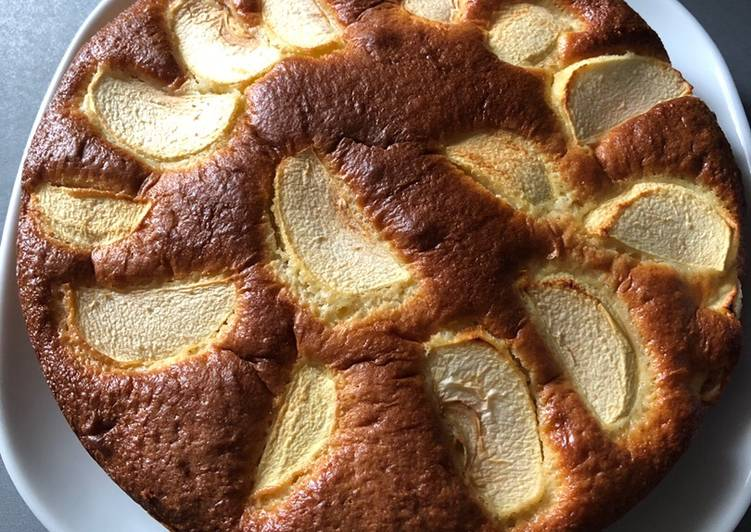 Comment faire Cuire Savoureux Gâteau aux pommes