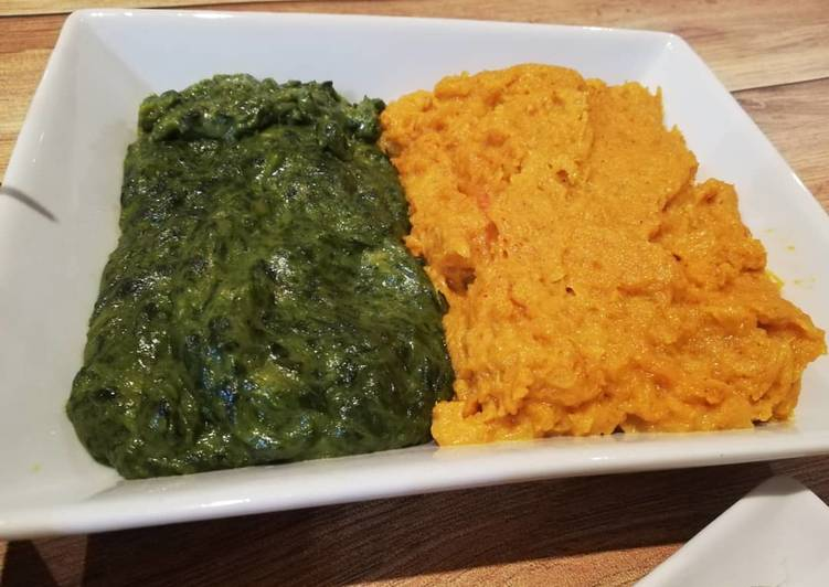 Recipe of Any-night-of-the-week Creamed Spinach & Butternut