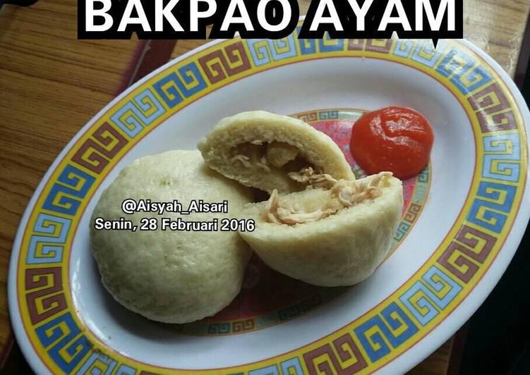 Resep Bakpao Ayam Paling Mudah