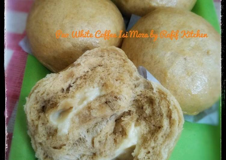Resep Pao White Coffee Isi Moza Bikin Laper