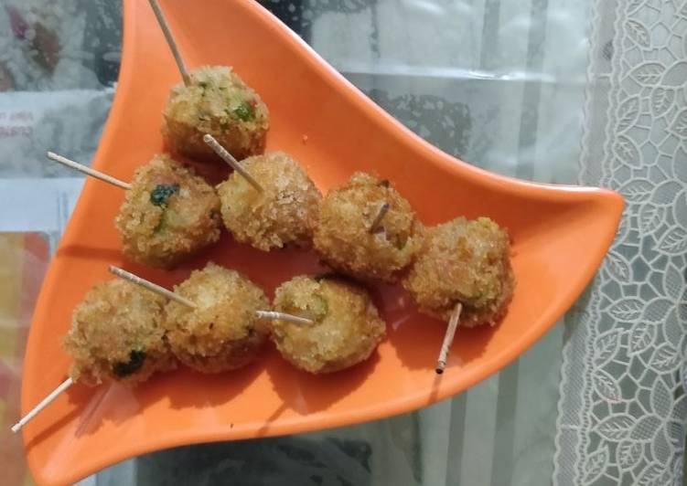 Veg Lollipop Cutlets